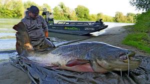 rybaření na Rhone